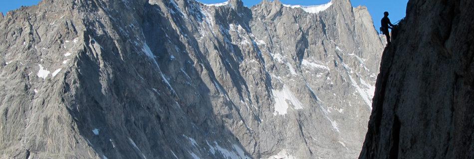 No.054 Granite climbing Mont Blanc Group