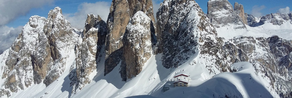 No.10 Ski-touring in the Dolomites (Eastern Section)