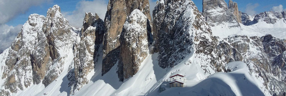 No.11 Ski-touring in the Dolomites (Eastern Section)