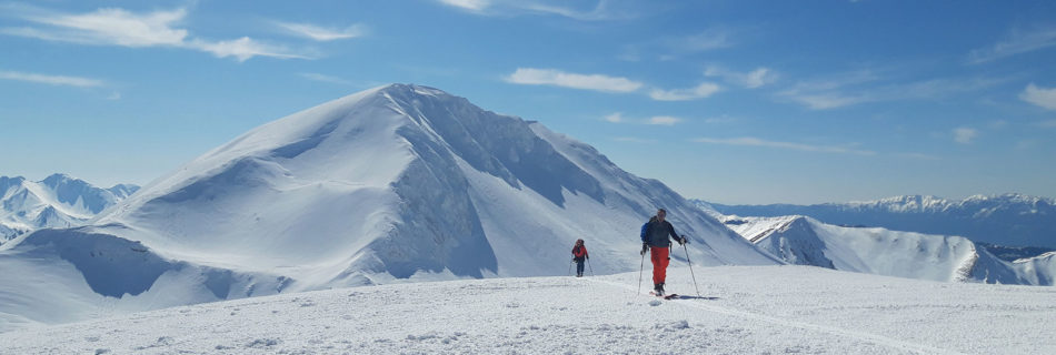 No. 11 Greece:  Ski-touring at the throne of the gods