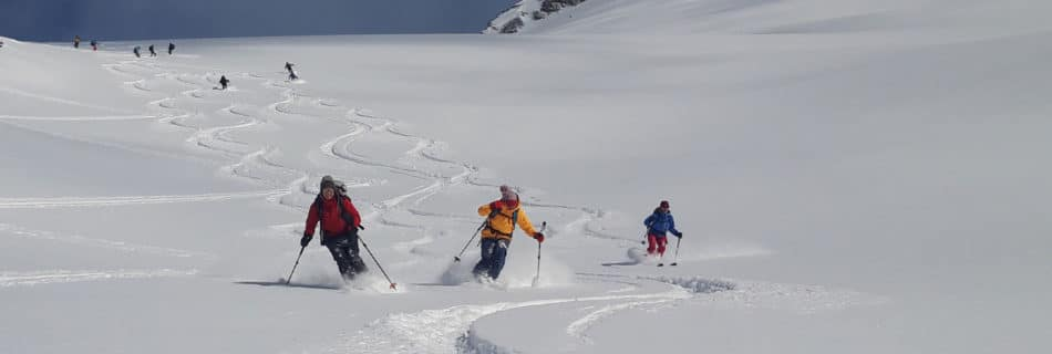 "No.26 Ski-touring week ""best snow, best weather"""